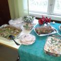 Salaattipääty pöydästä
