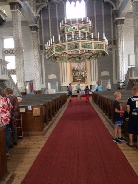 Kerimäen-kirkon-sisätilat