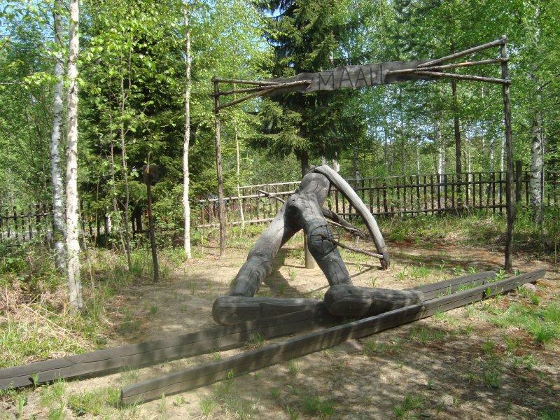 Juha Mieto ylittämässä maaliviivaa